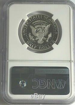 2012 S En Argent Épreuve Numismatique Kennedy Half Dollar Ngc Pf70 Ultra Cameo Uc Signature Étiquette