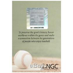 2014-p 1 $ Proof National Baseball Hall Of Fame Silver Dollar Ngc Pf70uc Er