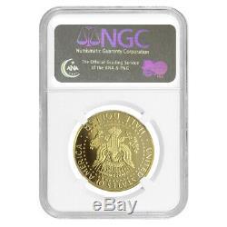 2014-w 3/4 Oz D'or Kennedy Half Dollar Proof High Relief Ngc Pf 69 Ucam