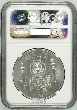 2015 P Rev. Preuve Présidentielle $ 1 John F. Kennedy Coin Et Chroniques Set Ngc Pf69