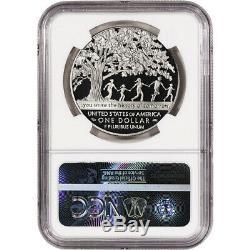 2017-p Us Boys Ville Preuve Commémorative Silver Dollar Ngc Pf70 Communiqués Tôt