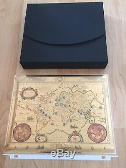 2018 5oz Lion Dollar Daalder Dutch Argent Proof Pf70 Ide Box / Coa / Map 300 Mintage