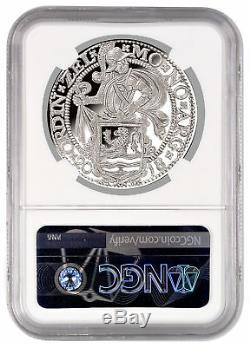 2018 Pays-bas 1 Oz Lion D'argent Dollar Ngc Pf70 Uc Fr