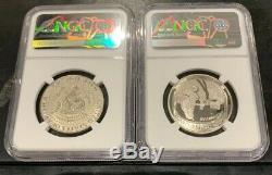 2019 S Apollo 11 50e Ann Half Dollar Set W Preuve Inverse Kennedy Ngc Pf70 Er