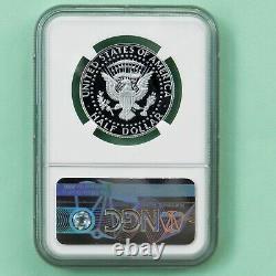 2019 S First. 999 Fine Silver Kennedy Demi-dollar Premier Jour De L'émission Ngc Pf 70 Uc