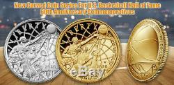 2020 P Basketball Hall Of Fame Silver Dollar Ngc Pf70 Abdual Jabbar Premier Jour