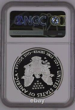 2020 W Fin De La Seconde Guerre Mondiale 75e Anniversaire American Eagle Silver 20xf Ngc Pf69