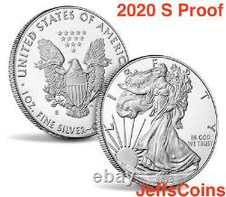 2020 W Fin De La Seconde Guerre Mondiale 75e Anniversaire Privy V75 Silver Eagle 20xf Ngc Pf69