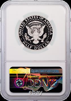 2020-s. 999 Oz Argent Kennedy Demi-dollar Premier Jour D'émission Pf70 Ultra Cameo