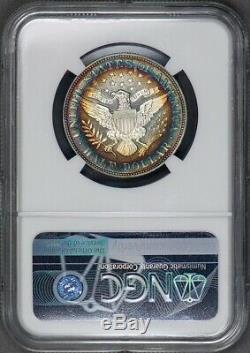 C12440- 1892 Preuve Barber Half Dollar Ngc Pr65 Étoiles Cameo Arc-en--1245 Minted
