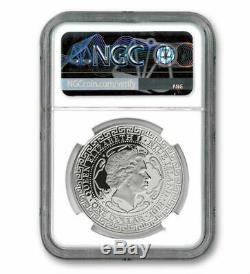 Commerce Britannique Dollar 2018 1 $ 1 Oz Pur Proof Silver Coin Ngc Pf70uc Niue