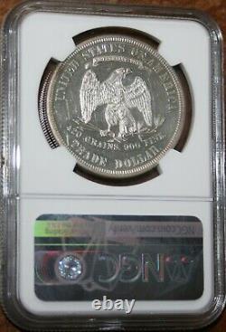 Etats-unis 1879 Dollar Commercial Ngc Classé Pf 58 Rare Proof Silver Gem Coin