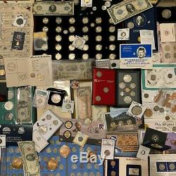 Immense Estate Collection Coin Lot Or Argent Old Bullion Sets Morgan Dollars