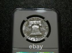Lot De 3 Franklin Proof Demi Dollars Ngc Pf67 1961, 1962, 1963