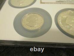 Ngc 1ère Année Émission Dollar Collection Proof Set (5 Pièces)