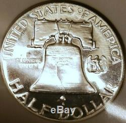 Pf-1954 Franklin Wow 68 Half Dollar Ebay Un Chers Ngc Splendide Preuve Pr