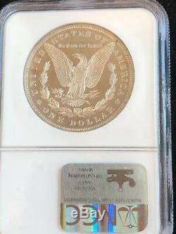 Preuve 1883- 65 Ngc U. S. Morgan Silver Dollar Excalibur Pedigree Rasoir